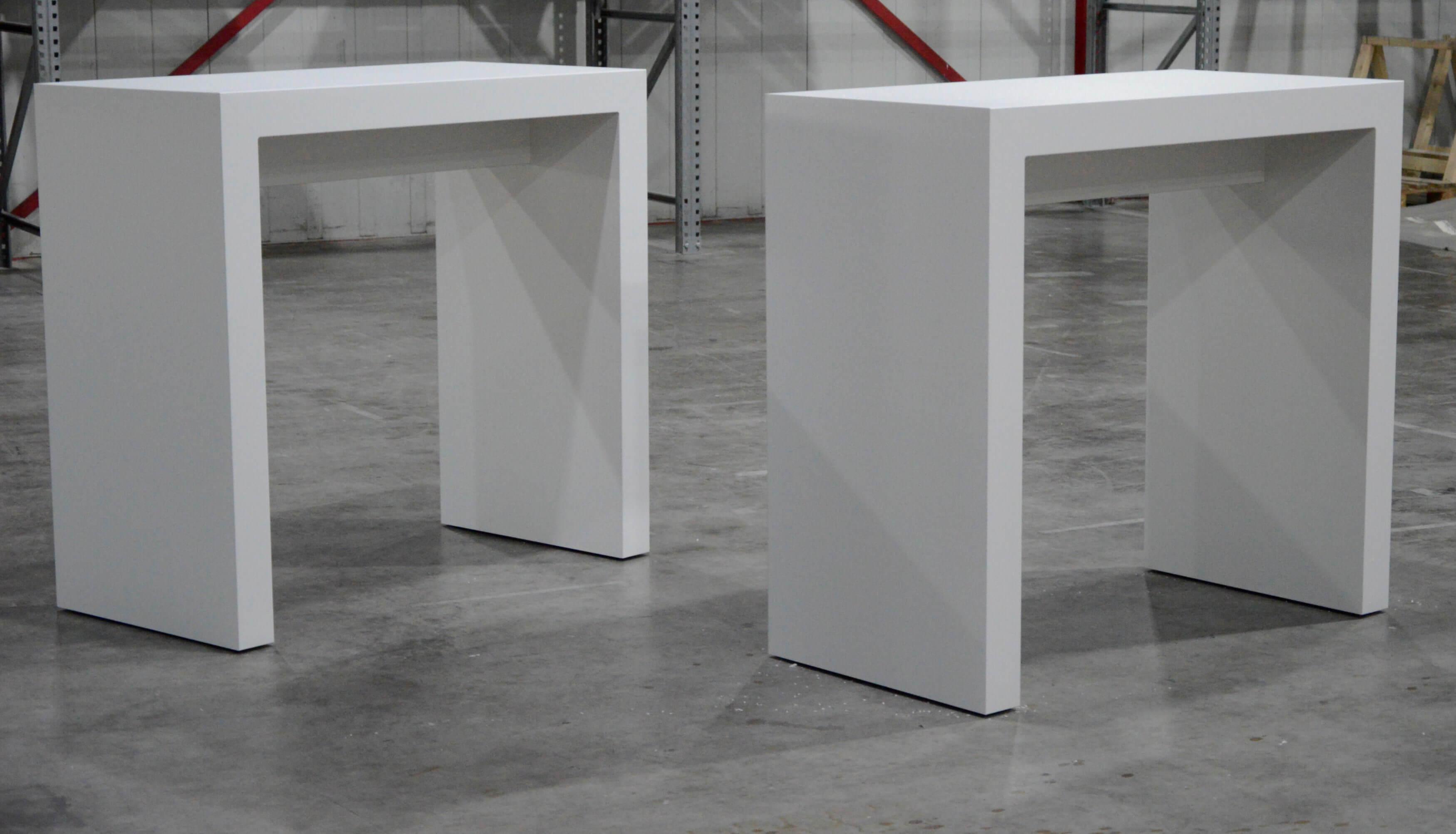 U tafels standbouw