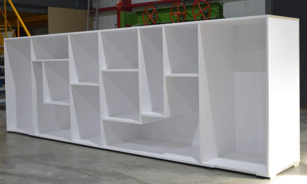 interieurbouw- balie